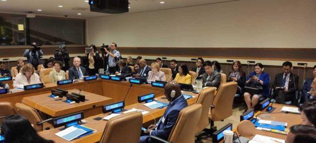 Вероника Скворцова рассказала о борьбе с НИЗ в России и мире на Генассамблее ООН