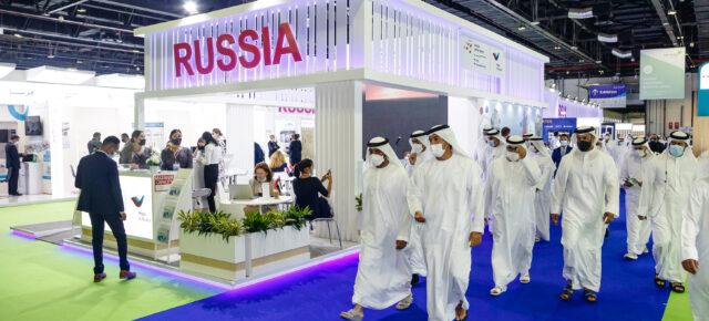 Россия приняла участие в международной выставке Arab Health-2021
